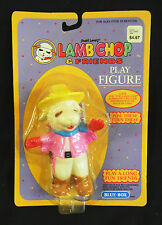 Lamb Chop Cowgirl Mint Figure On Original Card : Rare F. W. Woolworth Card