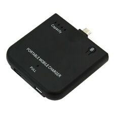 Externer Notfallakku für alle Geräte mit Mikro-USB Anschluß