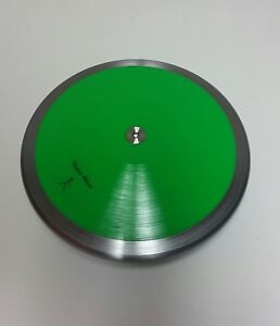 Practice 80% Rim Weight 1 kg Discus Green --High Spin. High Quality