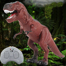 Walking Remote Control Dinosaur Toy Light-Up Sound Action Figure Xmas Gift D@