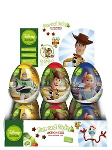 Toy Story 4 Fun & Fruity Action Egg 24g X 18