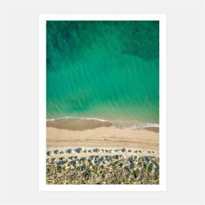40 Mile Beach Australian souvenir print