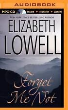 Forget Me Not by Elizabeth Lowell (2014, MP3 CD, Unabridged)