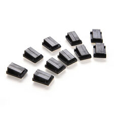 50x Car Wire Cord Cable Holder Tie Clips Fixer Organizer Drop Adhesive Clamp PB