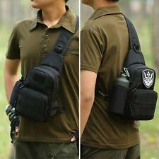 Mens Military Tactical Shoulder Bag Sling Chest Backpack Tactical Crossbody Bag