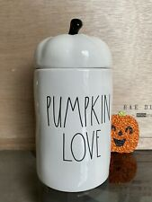🎃 Rae Dunn Halloween Pumpkin Love Candle with Topper - Limited Edition 2020