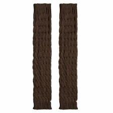Hot Leg Socks Knit Warmers Women Warm Knee High Winter Solid Crochet Leg Female