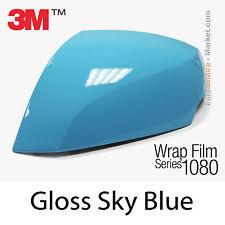 10x20cm LÁMINA Brillante Azul Cielo 3M 1080 G77 Vinilo CUBIERTA Cinta aislante