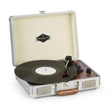 Platine Disque Vinyle Tourne Disque Rétro Enceintes Stéréo USB 33 45 78 T/min