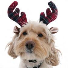 Rosewood Tartan Reindeer Antlers Dog Christmas Xmas Fancy Dress up 90904