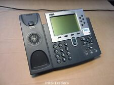 Cisco CP-7960G Unified IP Phone Telephone VOIP 2x RJ-45 Telefon Telefoon NO HORN