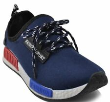 Rave Johnny Men's Sneakers Rubber Shoes - NAVY BLUE  (SIZE 40)
