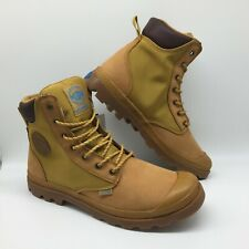 "Palladium Shoes Men's Boots ""Pampa Sport Cuff WPN"" --Amber GOLD/ MID GUM"
