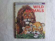 Wild Animals - Little Golden Book 1960