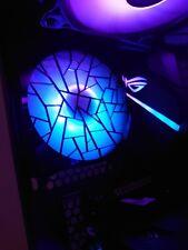 More details for 120mm fan shroud - suit rgb / argb gaming pc fans - new