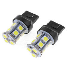 Great 2 X Car T20 7443 7440 5050-LED 13SMD White Tail Turn Light Lamp Bulb TOCA