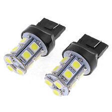 Great 2 X Car T20 7443 7440 5050-LED 13SMD White Tail Turn Light Lamp Bulb  FF