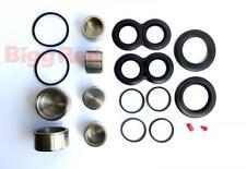 Jaguar E Type Front Brake Caliper Seal & Piston Repair Kit S/Steel BRKP75