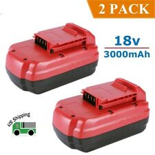 2 Pack 18V 3000mAh NiCd Battery for Porter Cable PC18B PC18B-2 Cordless Tools