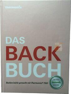 Kochbuch Vorwerk Thermomix DAS BACKBUCH Buch Rezepte kochen Kuchen TM5 TM6 sk24