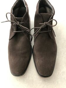 Tods Men's Suede Boots Size 8 Excellent Condition