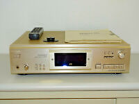 Sony CDP-XA555ES High-End CD-Player Champagner, mit FB,BDA & Puck, 2J. Garantie