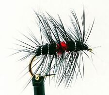 BIBIO Wet Flies 3 Pack HAWTHORN Nymphs Gnats Trout Fly Fishing Size 10,12,14