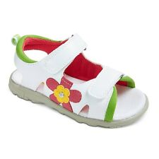 Rachel shoes sandals  Hook & Loop Toddler Girls Kids Floral Pink White Size 9