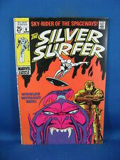 SILVER SURFER 6 F VF 1969