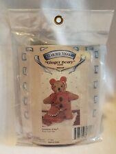 "Gingerbread Boy Costume for 9"" Bear or Doll 1994 Retired Tender Heart Treasures"
