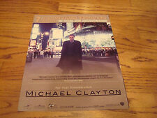 MICHAEL CLAYTON Oscar ad Tom Wilkinson as Arthur & AWAY FROM HER Julie Christie