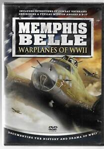 Timeless Media Group Memphis Belle, Warplanes WWII, B-17 Documentary, USED VHS