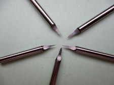 5HM Buril Ø 3,175 40° CNC Engraving puntas circuito impreso PCB endmill vhm