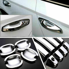 Non-Rusty Chrome Door Handle Bowl Cover Cup Overlay Trim For Skoda Fabia 2015-16