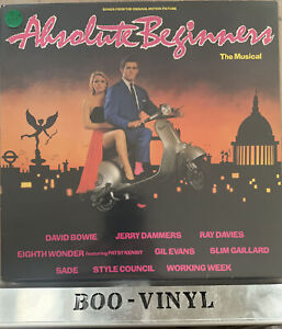 Absolute Beginners The musical David Bowie vinyl lp record soundtrack EX CON