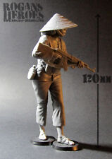 VIETCONG / NVA FEMALE IRREGULAR MODEL (1/16 scale plastic resin)