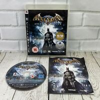 Batman Arkham Asylum (PS3) Sony Playstation 3 Complete With Manual