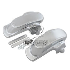 Rear Frame Axle Kit Covers Chrome for Harley Dyna Wide Glide Fat Bob 2006-2015