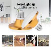 AC 220V E27 SMD 5730 LED Lamp Home Energy Saving Flat UFO Light Bulb 12W-60W
