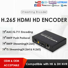 H.264/H.265 HDMI Video Encoder Video Converter For IPTV Live Streaming US/UK/EU
