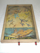 Vintage Pinball Game Jet Age No. 443 4 Games Tabletop Made in USA