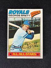 1977 Topps George Brett NM #580 Kansas City Royals *24