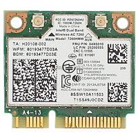Lenovo Thinkpad intel 7260 AC dual band WiFi+BT 4.0 Wlan Card 04X6090 / 04W3814