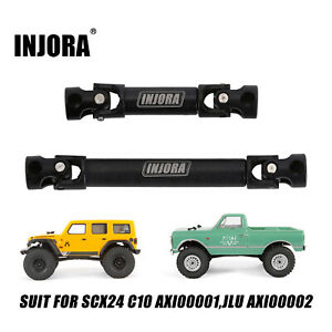 CNC Steel Center Drive Shafts for 1/24 RC Axial SCX24 JLU AXI00002 C10 AXI00001