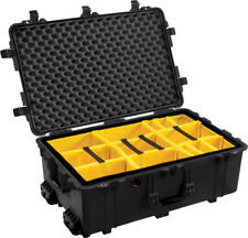 Black Pelican 1650 with padded dividers.  Dividers are Yellow.