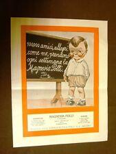 Pubblicità del 1924 Magnesia Polli Prodotti della Farmaceutica Polli S.A. Milano