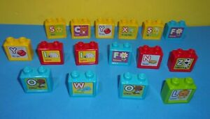 Vtech Sit To Stand Ultimate Alphabet Train Replacement Letter Blocks w/ Some Dup