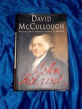 John Adams by David McCullough 2001 Hardcover/DJ 1st Edition 3rd Printing