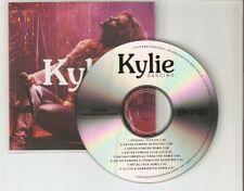 "KYLIE - DANCING - THE REMIXES "" NEW BRAZILIAN 8 TRACK CD PROMO"