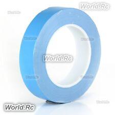 1-roll 25mm double face adhésif 3m bande thermique pour cpu dissipateur de chaleur led long 25m
